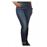 Dondup - Jeans Five Pockets Straight Leg - Blue Jeans - Trousers - Luxury Exclusive Collection