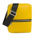 Automobili Lamborghini - Small Bodybag - Yellow - Made in Italy - Luxury Exclusive Collection