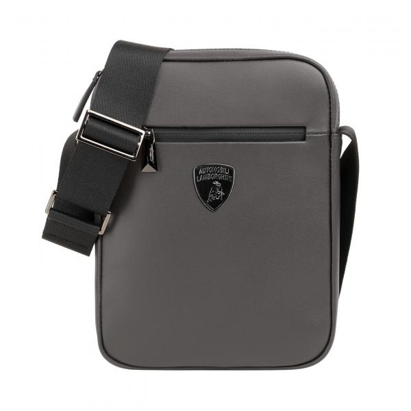 Automobili Lamborghini - Bodybag - Grigia - Made in Italy - Luxury Exclusive Collection