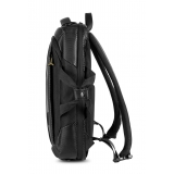 Automobili Lamborghini - Backpack - Black - Made in Italy - Luxury Exclusive Collection