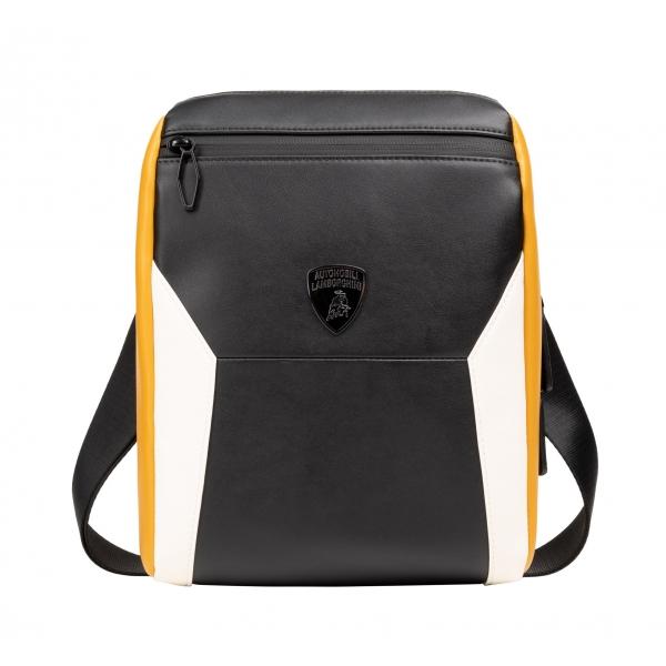 Automobili Lamborghini - Bodybag - Black- Made in Italy - Luxury Exclusive Collection