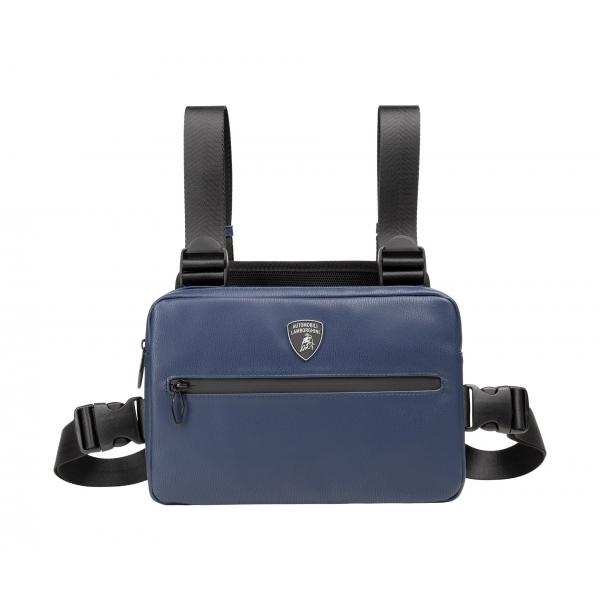 Automobili Lamborghini - Bodybag - Blue - Made in Italy - Luxury Exclusive Collection