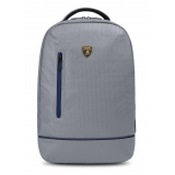 Automobili Lamborghini - Backpack - Grey - Made in Italy - Luxury Exclusive Collection