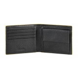 Automobili Lamborghini - Wallet - Black - Made in Italy - Luxury Exclusive Collection
