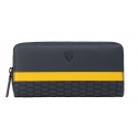 Automobili Lamborghini - Wallet - Blue - Made in Italy - Luxury Exclusive Collection