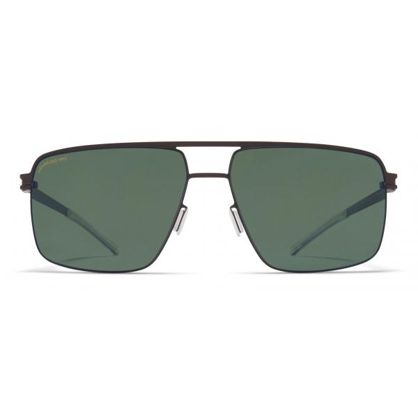 Mykita - Joshua - NO1 - Dark Brown Green - Metal Collection - Sunglasses - Mykita Eyewear