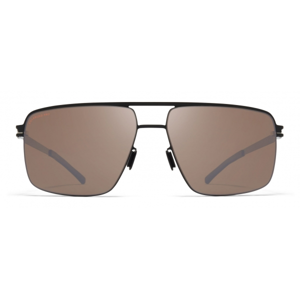 Mykita - Joshua - NO1 - Black Brown Silver - Metal Collection - Sunglasses - Mykita Eyewear