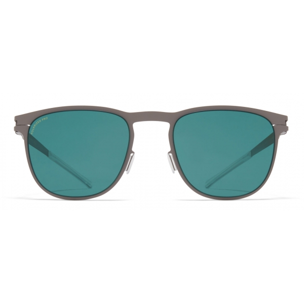 Mykita - Stanley - NO1 - Mole Grey Ocean Blue - Metal Collection - Sunglasses - Mykita Eyewear