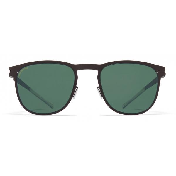 Mykita - Stanley - NO1 - Dark Brown Green - Metal Collection - Sunglasses - Mykita Eyewear
