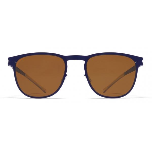 Mykita - Stanley - NO1 - Blue Velvet Amber Brown - Metal Collection - Sunglasses - Mykita Eyewear