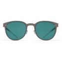 Mykita - Truman - NO1 - Mole Grey Ocean Blue - Metal Collection - Sunglasses - Mykita Eyewear