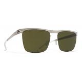Mykita - Will - NO1 - Matte Silver Green - Metal Collection - Sunglasses - Mykita Eyewear