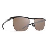 Mykita - Will - NO1 - Black Brown Silver - Metal Collection - Sunglasses - Mykita Eyewear