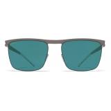 Mykita - Will - NO1 - Mole Grey Ocean Blue - Metal Collection - Sunglasses - Mykita Eyewear