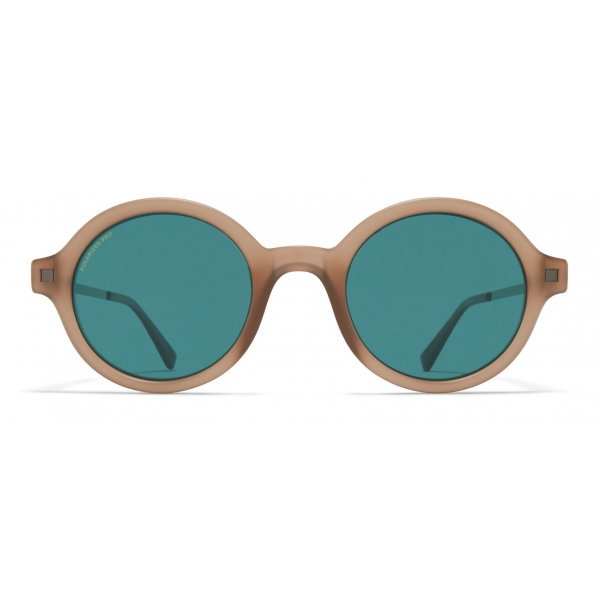 Mykita - Esbo - Lite - Matte Taupe Graphite Ocean Blue - Acetate Collection - Sunglasses - Mykita Eyewear