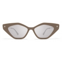 Mykita - Gapi - Lite - Brown Grey Silver - Acetate Collection - Sunglasses - Mykita Eyewear