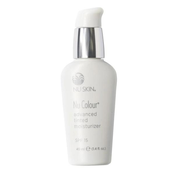 Nu Skin - Nu Colour Advanced Tinted Moisturizer SPF 15 - Medium Beige - 40 ml - Body Spa - Beauty