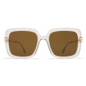 Mykita - Hesta - Lite - Champagne Gold Brown - Acetate Collection - Sunglasses - Mykita Eyewear