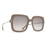 Mykita - Hesta - Lite - Brown Grey Silver - Acetate Collection - Sunglasses - Mykita Eyewear