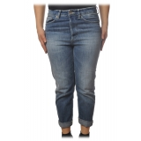 Dondup - Jeans Soft Leg Model - Blue Jeans - Trousers - Luxury Exclusive Collection