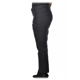 Dondup - Tapered Leg Trousers - Blue - Trousers - Luxury Exclusive Collection