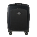 MV Augusta - TecknoMonster - TecknoMonster Aluminum Suitcase With Flap - Trolley - Aeronautical Carbon Trolley Suitcase