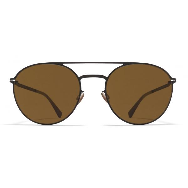 Mykita - Julian - Lite - Black Brown - Acetate & Stainless Steel Collection - Sunglasses - Mykita Eyewear