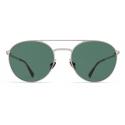 Mykita - Julian - Lite - Silver Dark Green - Acetate & Stainless Steel Collection - Sunglasses - Mykita Eyewear