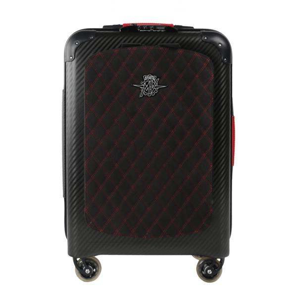 MV Augusta - TecknoMonster - TecknoMonster Carbon Suitcase Cabin Large - Trolley in Carbonio Aeronautico