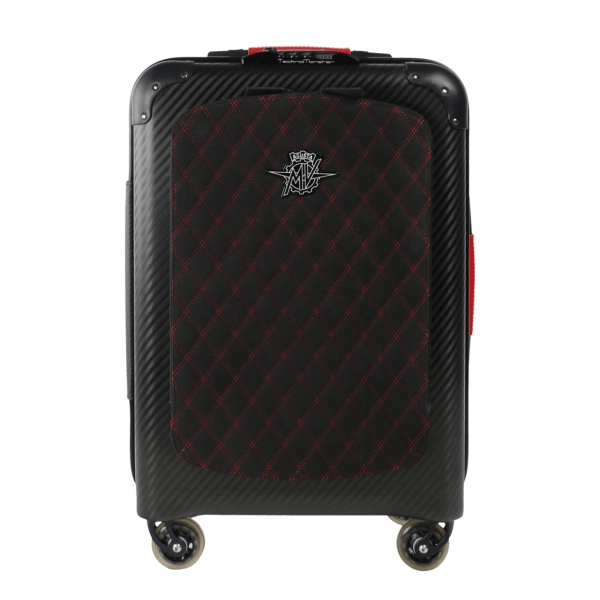 MV Augusta - TecknoMonster - TecknoMonster Carbon Suitcase Cabin Large - Trolley - Aeronautical Carbon Trolley Suitcase