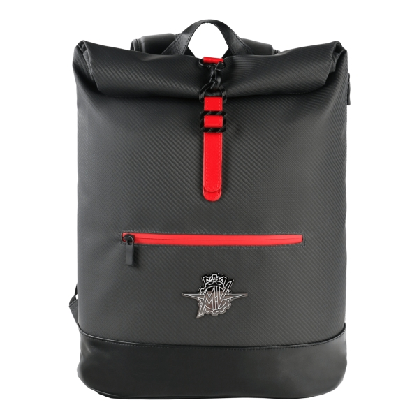 MV Augusta - TecknoMonster - TecknoMonster Carbon Roll Backpack - Zaino in Carbonio Aeronautico