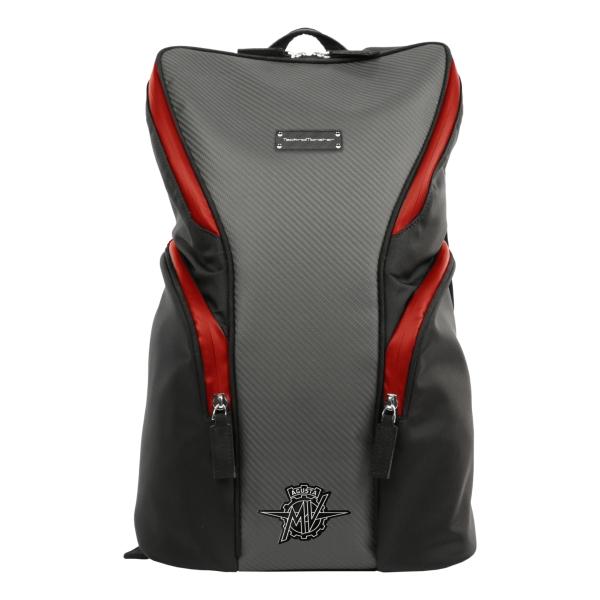 MV Augusta - TecknoMonster - TecknoMonster Carbon Small Backpack - Zaino in Carbonio Aeronautico