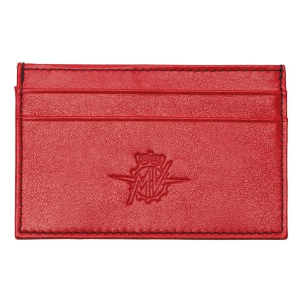 MV Augusta - TecknoMonster - TecknoMonster Carbon Card Holder Red - Wallet - Aeronautical Carbon Wallet Suitcase