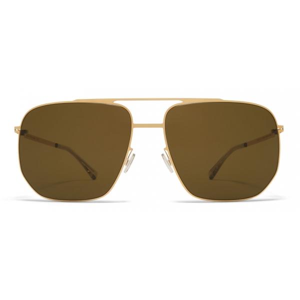Mykita - Lillesol - Lite - Gold Brown - Acetate & Stainless Steel Collection - Sunglasses - Mykita Eyewear