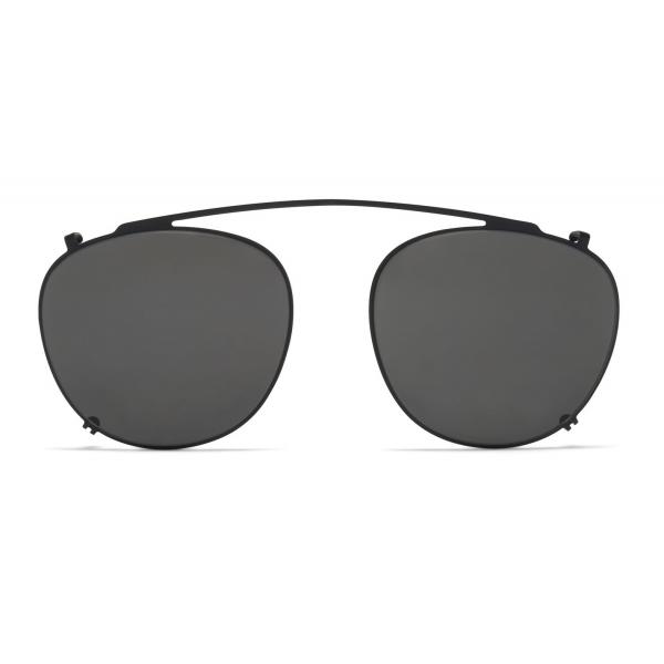 Mykita - Nukka - Lite - Black Dark Grey - Acetate & Stainless Steel Collection - Sunglasses - Mykita Eyewear