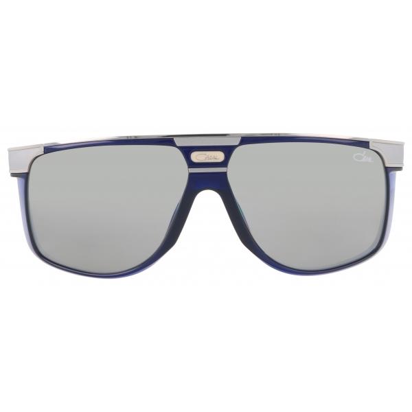 Cazal - Vintage 673 - Legendary - Night Blue Silver - Sunglasses - Cazal Eyewear