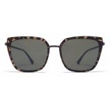 Mykita - Sanna - Lite - Black Antigua - Acetate & Stainless Steel Collection - Sunglasses - Mykita Eyewear