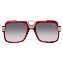 Cazal - Vintage 664 - Legendary - Red Silver - Sunglasses - Cazal Eyewear