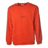 Dondup - Sweatshirt with Dondup Print - Orange - Sweatshirt - Luxury Exclusive Collection