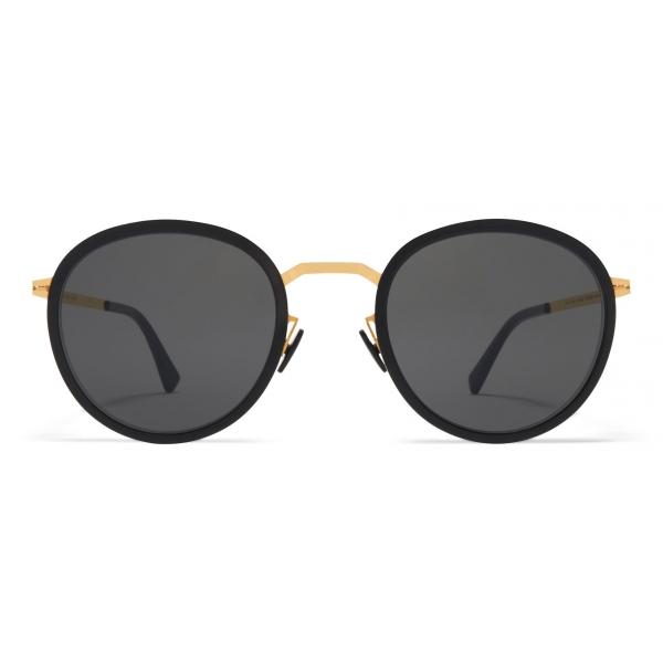 Mykita - Tuva - Lite - Nero Grigio - Acetate & Stainless Steel Collection - Occhiali da Sole - Mykita Eyewear