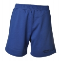 Dondup - Cotton Bermuda with Logo - Blue Royal - Trousers - Luxury Exclusive Collection