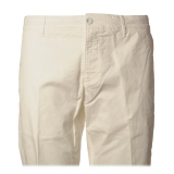 Dondup - Lightweight Cotton Trousers - White - Trousers - Luxury Exclusive Collection