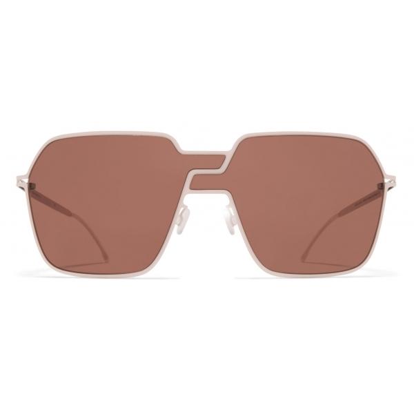 Mykita - Studio 12.3 - Mykita Studio - Aurora Rosewood Brown - Metal Collection - Sunglasses - Mykita Eyewear