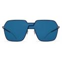 Mykita - Studio 12.3 - Mykita Studio - Dark Royal Blue - Metal Collection - Sunglasses - Mykita Eyewear