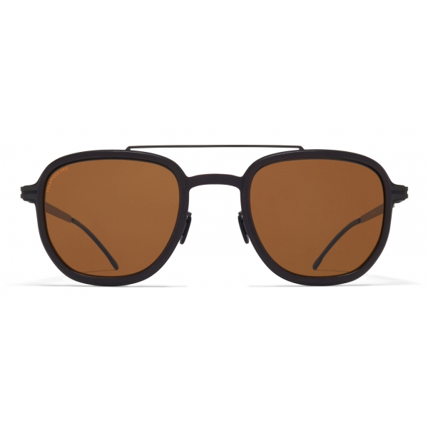 Mykita - Alder - Mykita Mylon - Nero Marrone - Mylon Collection - Occhiali da Sole - Mykita Eyewear