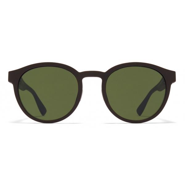 Mykita - Coleman - Mykita Mylon - Marrone Ebano Verde - Mylon Collection - Occhiali da Sole - Mykita Eyewear