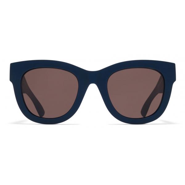 Mykita - Dew - Mykita Mylon - Indaco Marrone - Mylon Collection - Occhiali da Sole - Mykita Eyewear