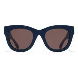 Mykita - Dew - Mykita Mylon - Indigo Brown - Mylon Collection - Sunglasses - Mykita Eyewear