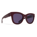 Mykita - Dew - Mykita Mylon - Burgundy Grey - Mylon Collection - Sunglasses - Mykita Eyewear