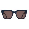 Mykita - Dusk - Mykita Mylon - Indigo Brown - Mylon Collection - Sunglasses - Mykita Eyewear